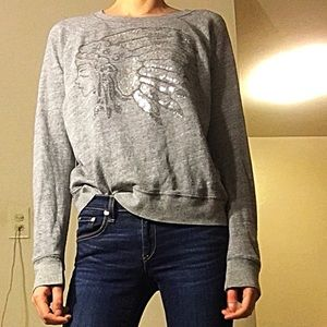 Abercrombie And Fitch Sequin Pullover